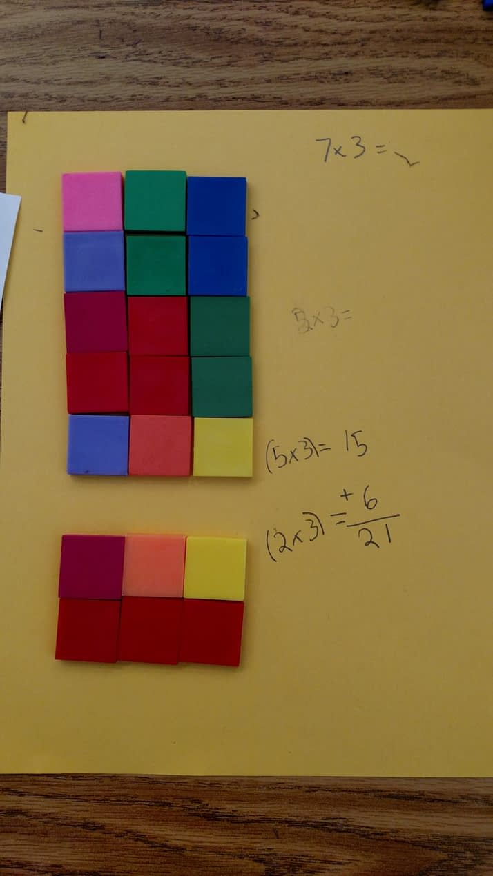Decompose arrays for multiplication